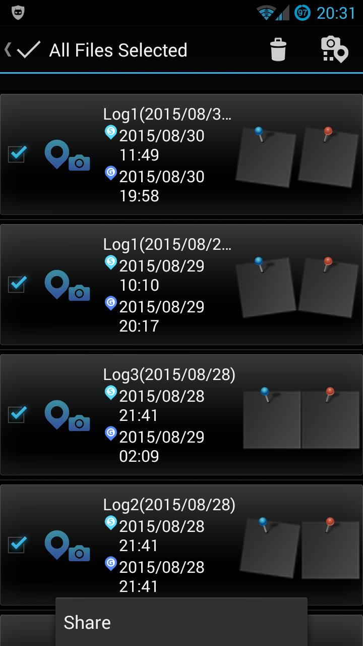 OI.Share Screenshot (Android)